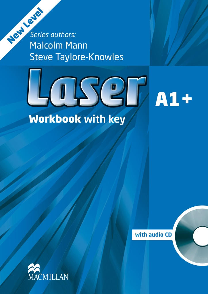 Laser 3ed A1+ Workbook with key Pack