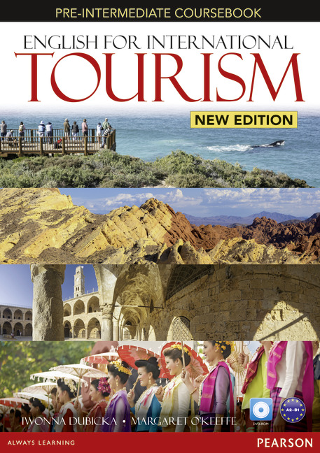 English for International Tourism New Edition Pre-Intermediate Coursebook and DVD-ROM Pack