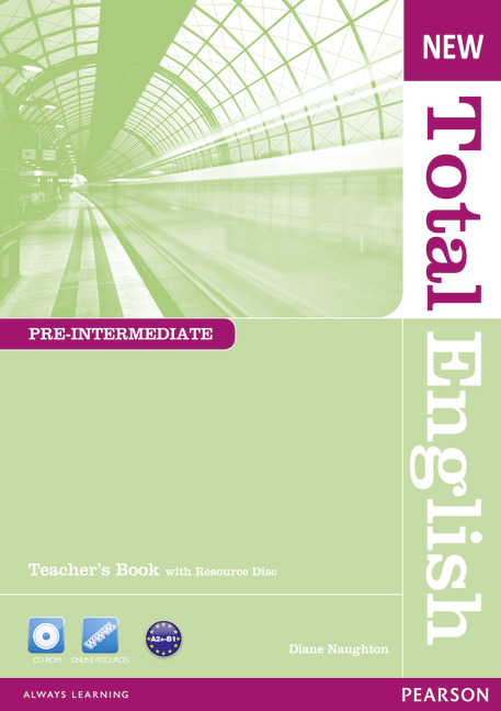 New Total English Pre-Intermediate Teacher's Book and Teacher's Resource CD Pack