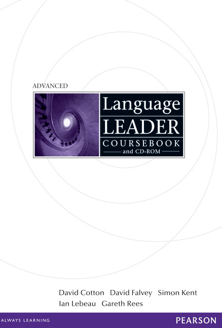 Language Leader Advanced Coursebook and CD-ROM Pack