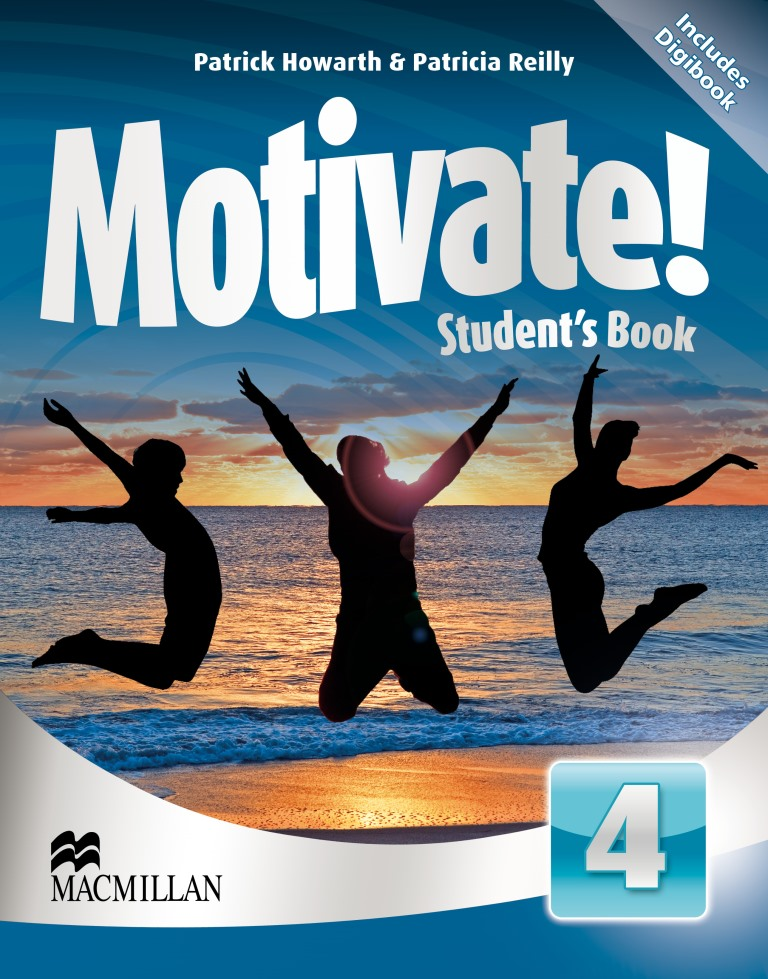Motivate! 4 Student's Book + CD-ROM