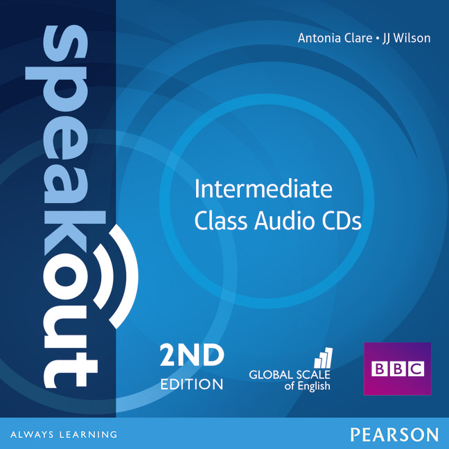 Speakout 2ed Intermediate Class CD