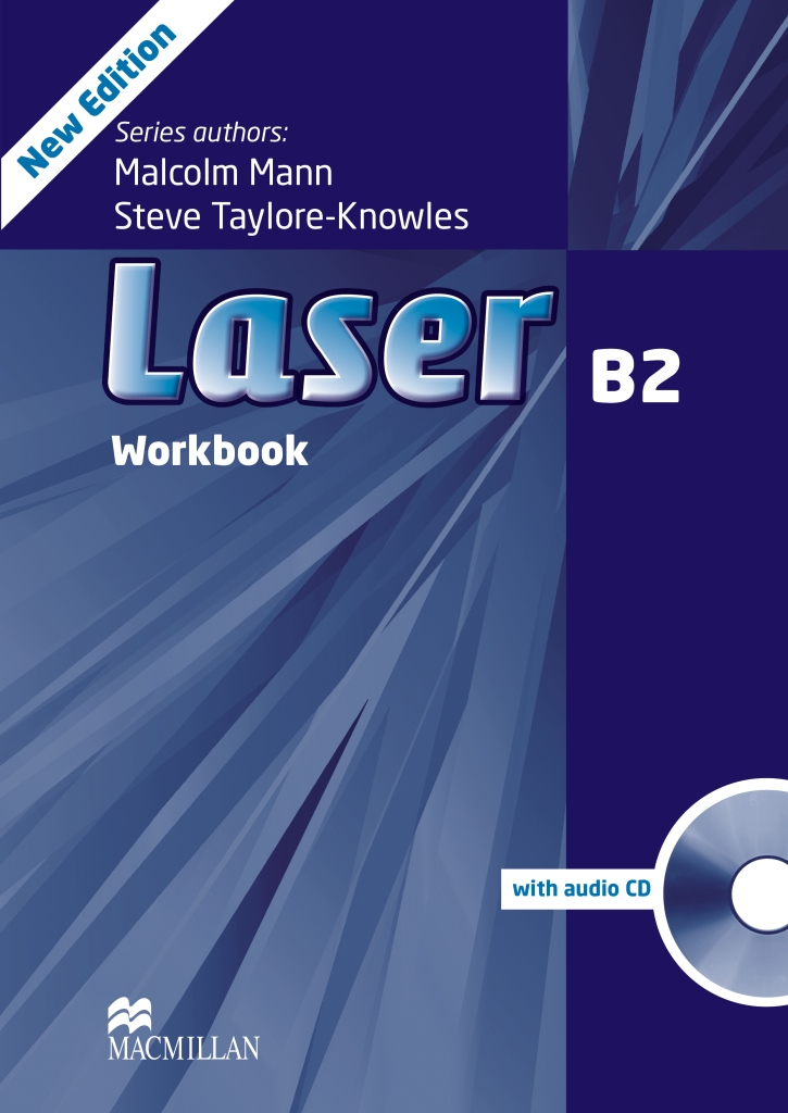 Laser 3ed B2 Workbook without key & CD Pack