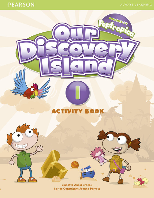 Our Discovery Island Level 1 Activity Book and CD-ROM Pack