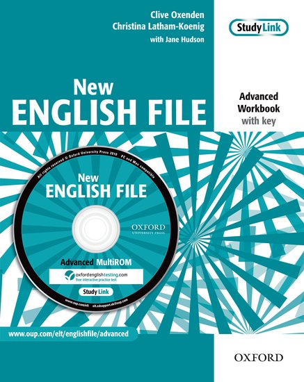 New English File Advanced Workbook with MultiROM Pack