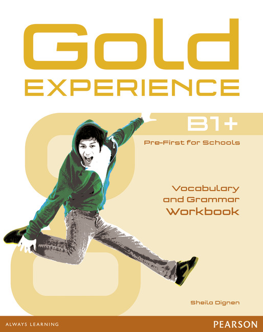 Gold Experience B1+ Vocabulary and Grammar Workbook without key
