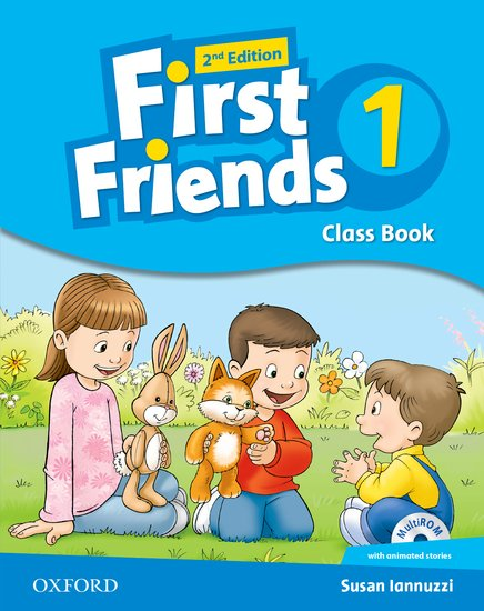 First Friends Level 1 Class Book and MultiROM Pack 2ED