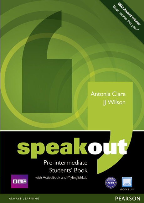 Speakout Pre-Intermediate Students' Book with DVD/ActiveBook and MyLab Pack