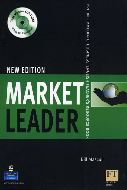 Market Leader New Edition Pre-Intermediate Teacher's Book and Test Master CD-ROM Pack