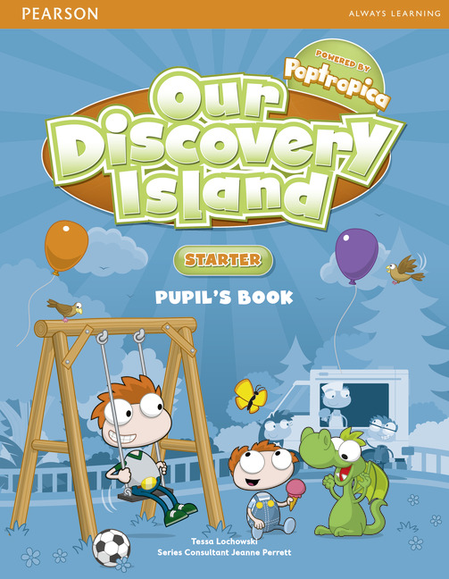 Our Discovery Island Starter Pupil's Book plus pin code