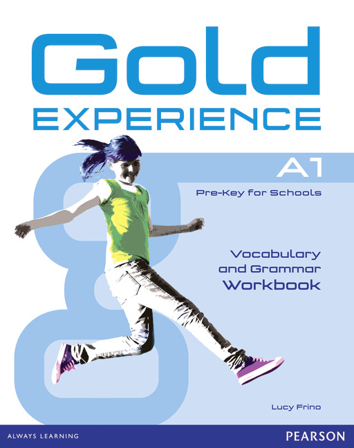 Gold Experience A1 Vocabulary and Grammar Workbook without key