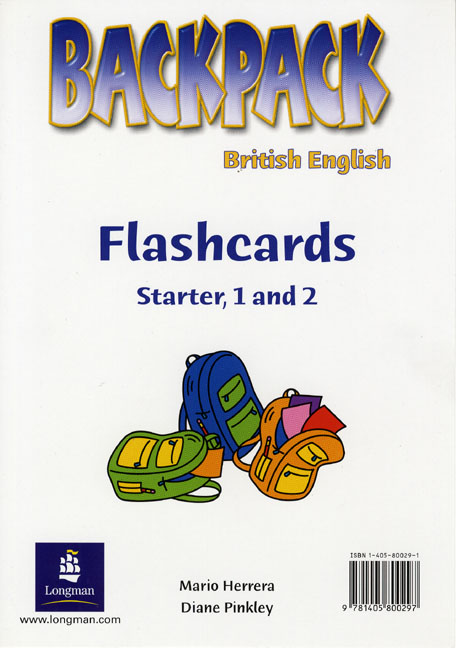 Backpack Starter, 1 and 2 Flashcards