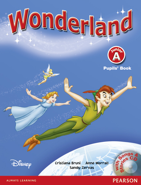 Wonderland Junior A Pupils' Book and Songs CD Pack