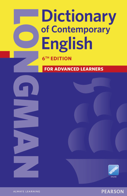 Longman Dictionary of Contemporary English 6ed Paper and online