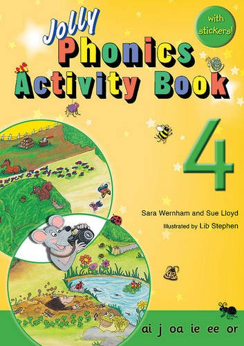 Jolly Phonics Activity Books 4