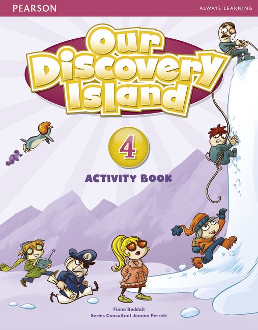 Our Discovery Island 4 Activity Book and CD-ROM Pack