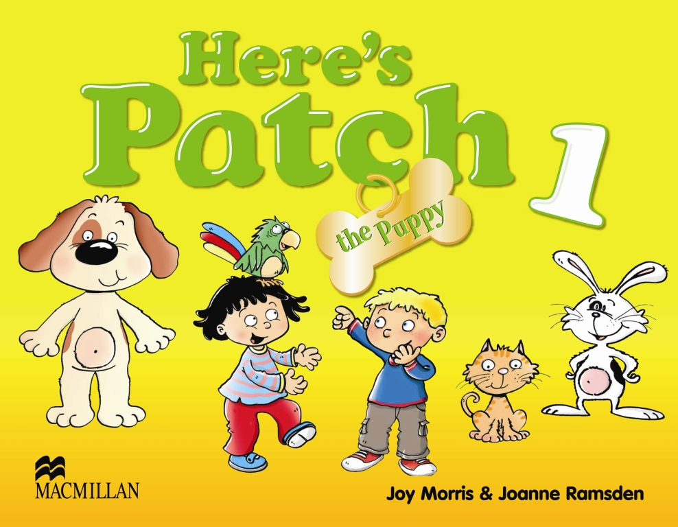 Here's Patch the Puppy 1 Pupil's Book with Songs Audio-CD